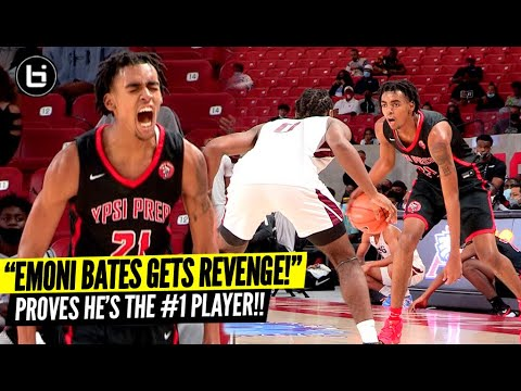 Download Emoni Bates Comes BACK To Texas & Gets REVENGE!! Best Player in The Nation at Holiday Hoopfest