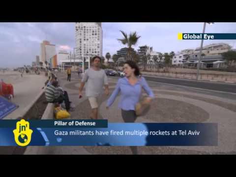 OPERATION PILLAR OF DEFENSE: Iron Dome intercepts Gaza rocket fired at Tel Aviv