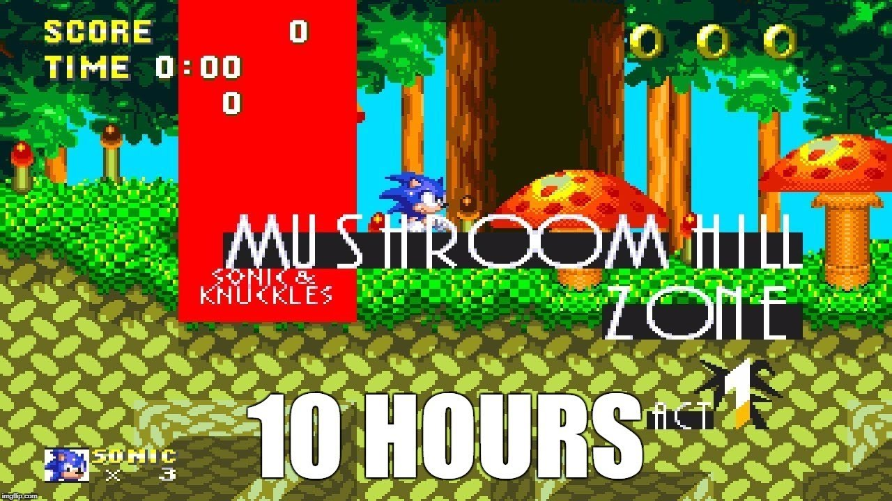 Sonic & Knuckles - Mushroom Hill Zone Act 1 Extended (10 Hours)
