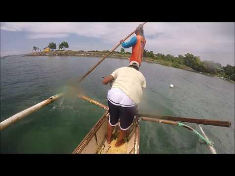 Coastal Net Fishing With The Local Fishermen In Cebu Philippines