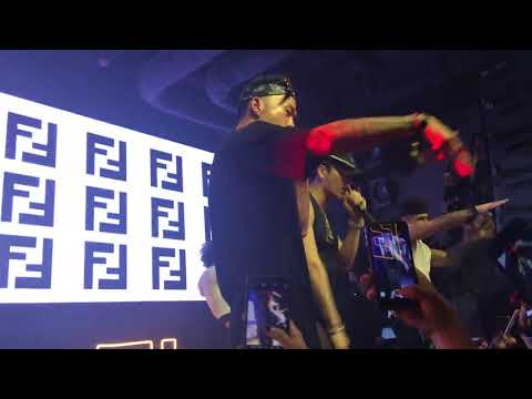 180526 got7  jackson wang -fendiman&Bruce Lee  fancam