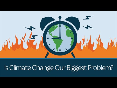 the large problem of climate change What is climate change climate change occurs when long-term weather patterns are altered — for example, through human activity global warming is one measure of climate change, and is a rise in the average global temperature.