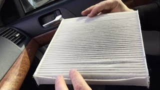 Замена фильтра салона на Mitsubishi Lancer X/Replacement of the cabin filter on Mitsubishi Lancer X