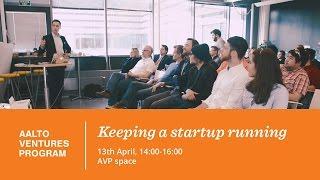 Insurance (OP Vakuutus) / Keeping a startup running 13.04.2016
