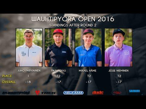 Wauhtipyörä Open 2016 Final Round (Parviainen, Koivu, Häme, Nieminen)