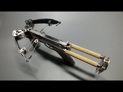 How Pistol Crossbow Works - Discovery of Internal Metal Mechanical Structure
