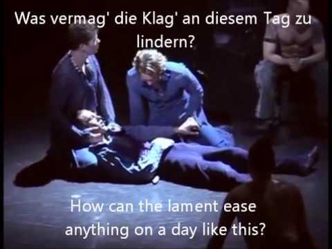 Romeo & Juliette - 21 Mort de Mercutio (German with subs & English translation)