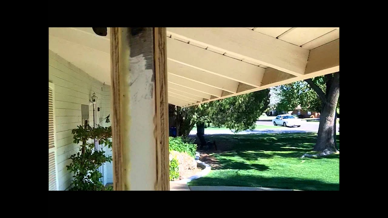 How to build a porch patio columns from scratch youtube for Garage column wrap