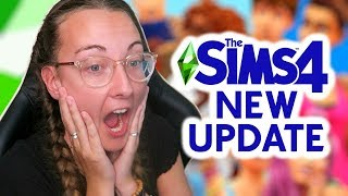 1000+ NEW ITEMS - The Sims 4 July 2019 Patch Update