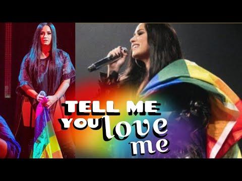 Demi Lovato's GAY TOUR