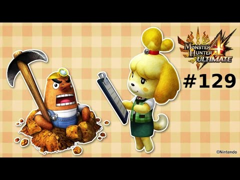 Monster Hunter 4 Ultimate Multiplayer -- Part 129: Animal Crossing: Fisher King (June DLC Quests 1)