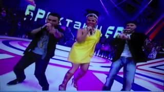 Melaney Ricardo+Roy Ricardo+Tyson MRT Player @Spektakuler Trans TV Mei 2013