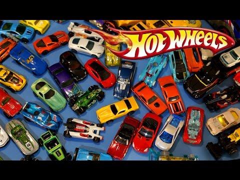 Машинки Хот Вилс - коллекция - 93 машины. Hot Wheels diecast cars collection