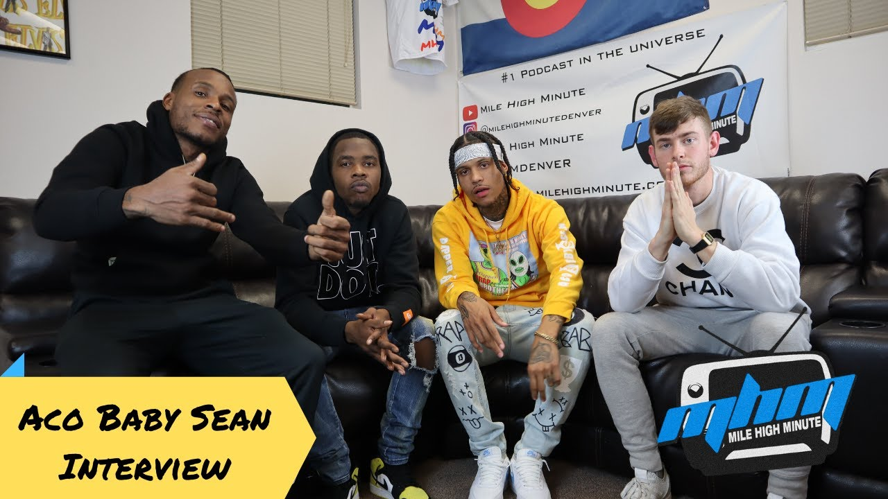 Aco Baby Sean Interview Repping Aurora Colorado Had Enough Shark Gang New Tape Mile High Minute Youtube