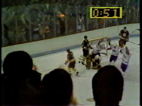 Montreal Canadiens Boston Bruins 1985