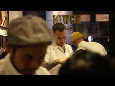 直撃 Edwin Watch Store barber by Crows Nest 全球首間概念店