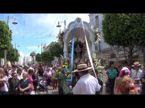 Salida Hermandad del Rocío de San Fernando (Cádiz) - 2017 - Calle Real