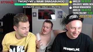 """LETNI x Janusz Słonina- """"Andrzej szykuj spirytus""""[SHOTY ZE STREAMA #7] Swagabunda"""