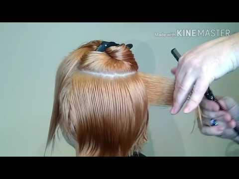 Ассиметричные женские стрижки на короткие волосы видео уроки для начинающих