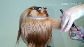 Видеоурок 6 Ассиметричная женская стрижка