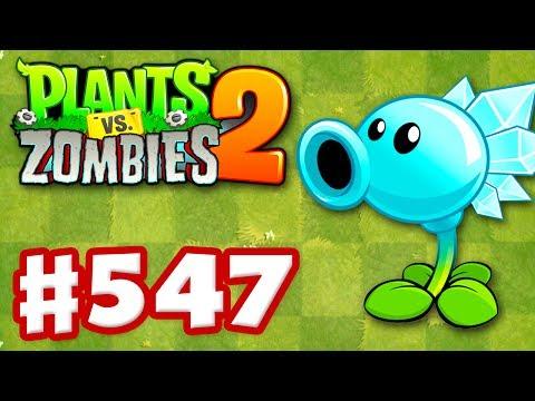 Plants vs. Zombies 2 - Gameplay Walkthrough Part 547 - Snow Pea Premium Seeds Epic Quest!