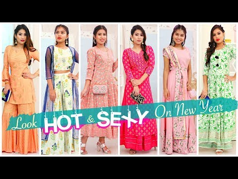 How to Look HOT & SEXY in Indian Wear | NEW YEAR LOOK | #ClubNewYearSale #ClubFactory #Anaysa from YouTube · Duration:  7 minutes 59 seconds