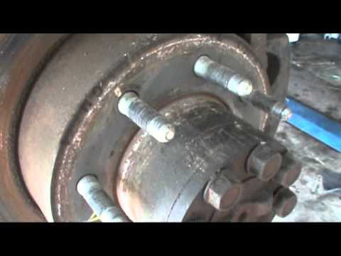 Axel seal leak Chevy 2500 hd - YouTube