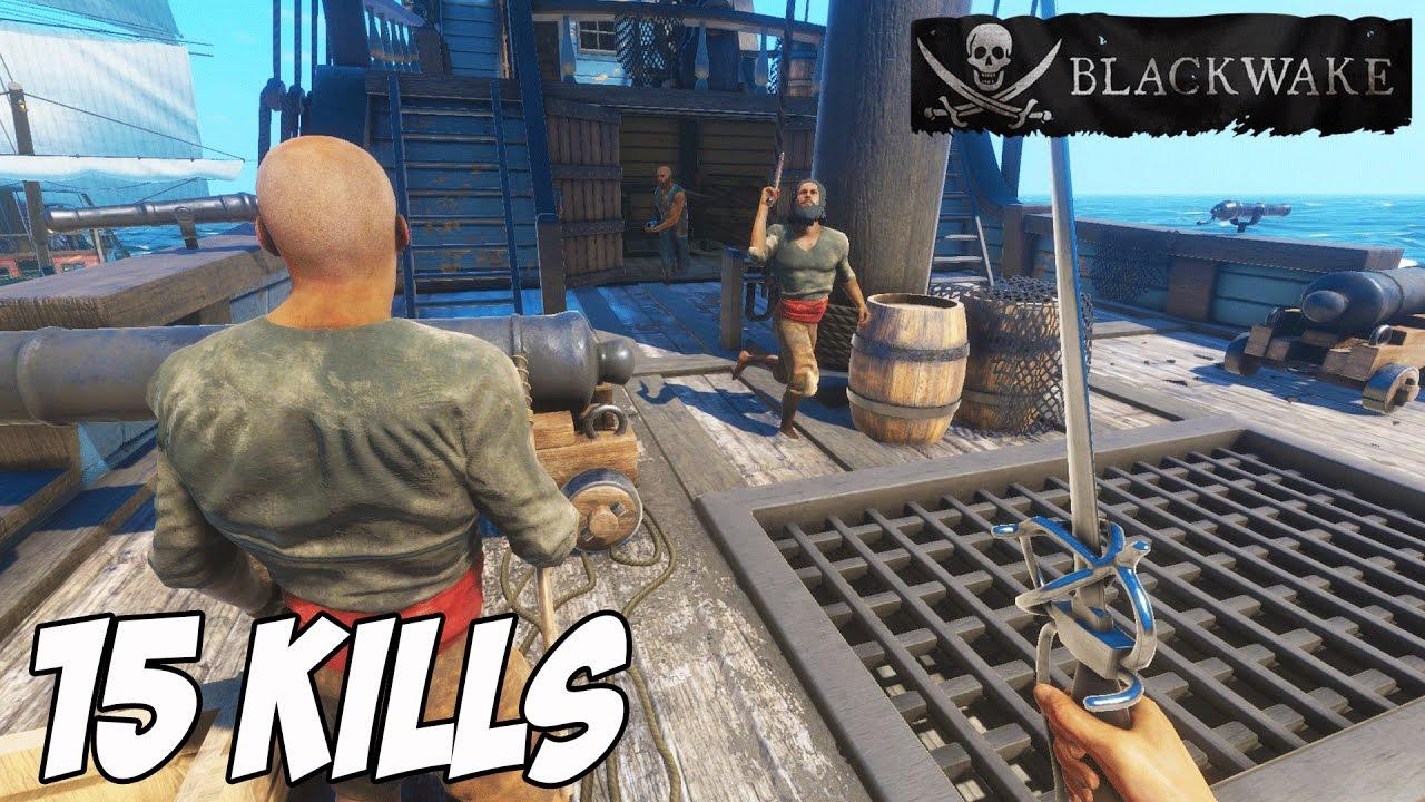 Blackwake Pirate Ship Battle Simulator The Best Pirate EVER! Blackwake  Multiplayer Gameplay