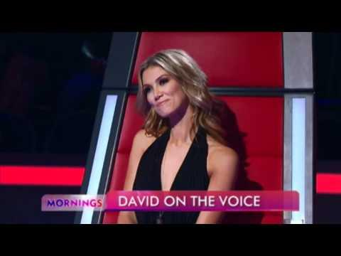 David Campbell on THE VOICE AUSTRALIA