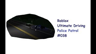 Roblox: Ultimatives Fahren | Polizeipatrouille #038 | Neue Karte! | [Huski/Deutsch]