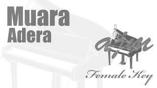 Adera - Muara Karaoke (Female Key) Ayjeeme Karaoke