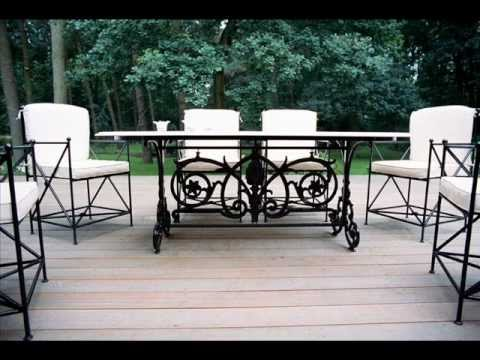 Mobili da giardino in ferro battuto mobili da giardino - Mobili da giardino in ferro ...