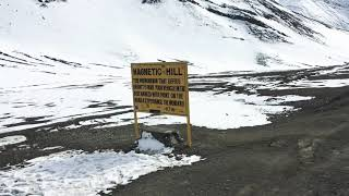 Must Visit Place in Ladakh - The Magnetic Hill | Where the gravity fails