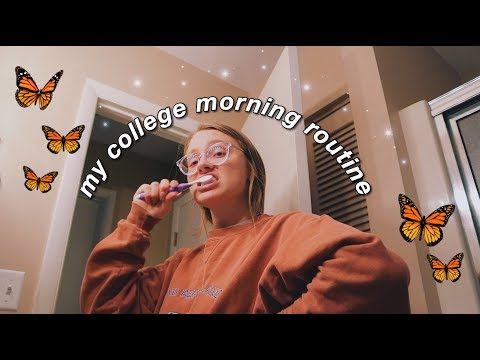 My REAL College Morning Routine (2019)