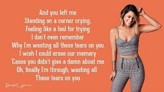 Cassadee Pope Wasting All These Tears Lyrics.mp3
