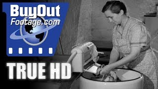 HD Historic Stock Footage - FARM FAMILY GETS ELECTRICITY 1930s REEL 4