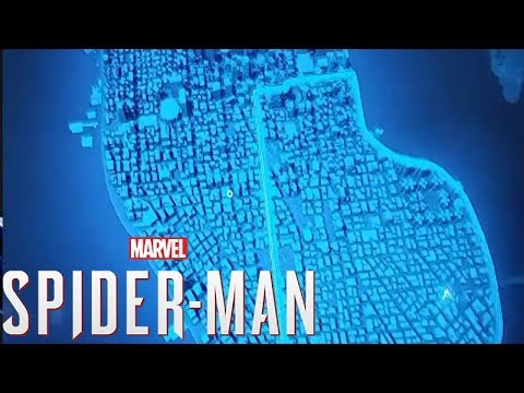 Open World Map Sizes.Spider Man Ps4 Full Open World Map Size Revealed Youtube