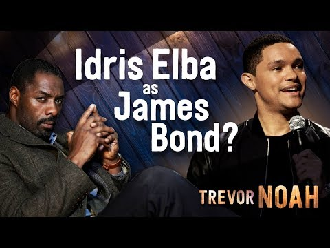 'Idris Elba as James Bond?' - (Afraid Of The Dark on Netflix) - TREVOR NOAH