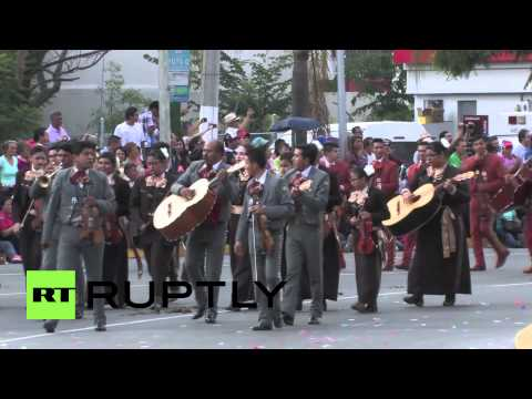Mexico: Mariachis from around the world gather for festival in Guadalajara