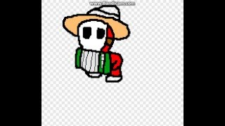 How to draw accordion guy (Paper mario. Sticker star)