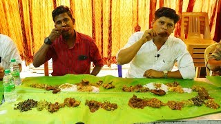 Tasting 25 Non Veg Items at a Same Times In UBM Hotel Perundurai | Village Food Channel