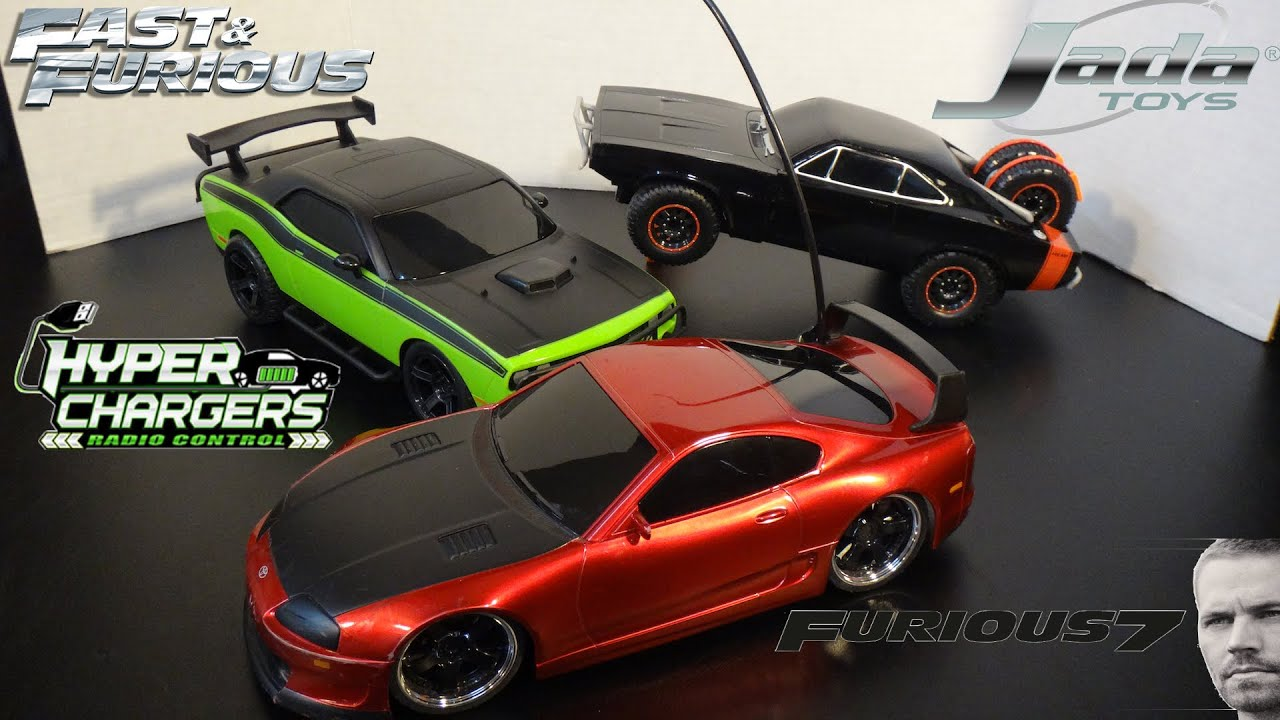 Furious 7 Charger And Challenger Offroad Rc Cars And