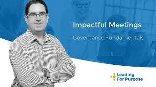 Impactful Meetings