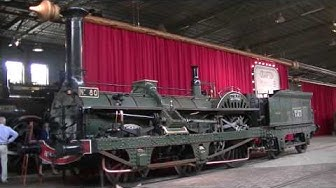 Crampton No 80 Le Continent at the Dutch Nat. Railway Museum