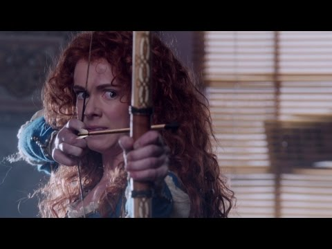 Once Upon a Time: Merida Attacks Belle