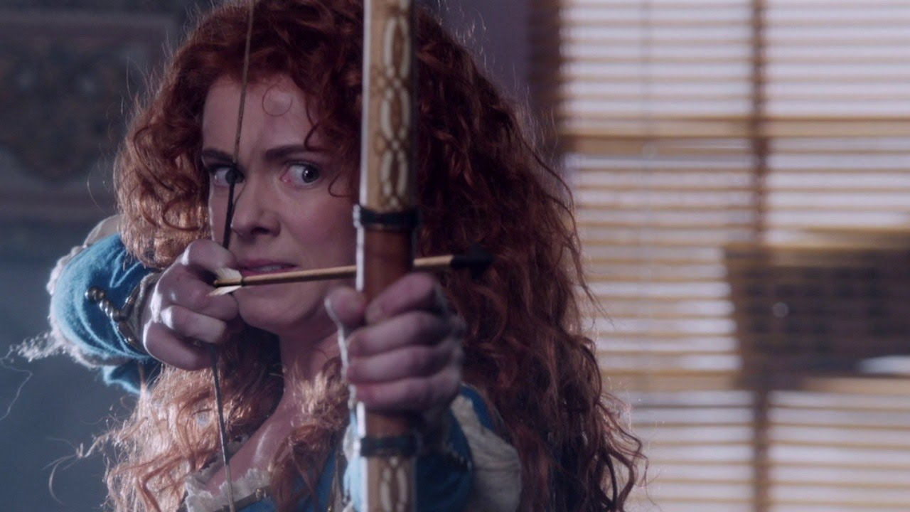 Amy Manson Once Upon A Time once upon a time: merida attacks belle