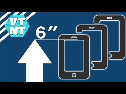 ТОП 5 Смартфонов больше 6-ти Дюймов