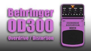 Behringer OD300 Overdrive - Boss OS-2 Clone