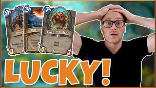 Hearthstone | So Lucky! | Wild Quest Beast Druid | Rise of Shadows