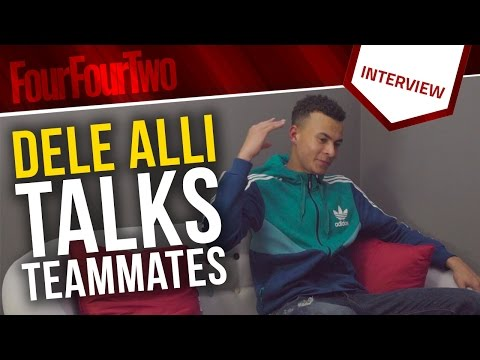 "Dele Alli | ""Eric Dier's clothes don't fit him properly!"" 
